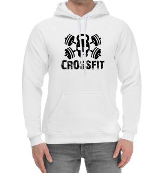 Женский хлопковый худи Crossfit