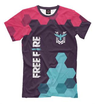 Мужская футболка Free Fire / Фри Фаер