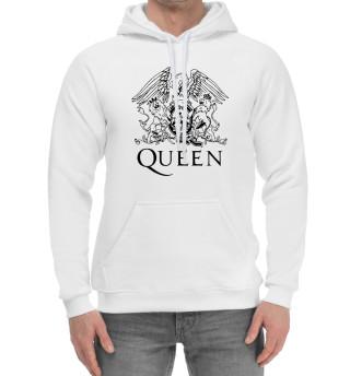 Мужской хлопковый худи Queen