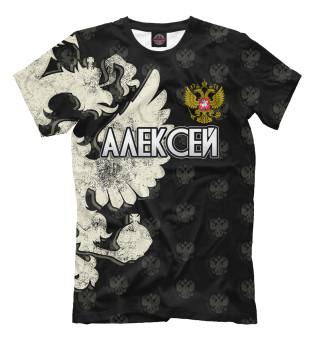 Мужская футболка Герб Алексей