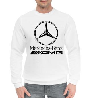 Мужской хлопковый свитшот Mercedes-Benz AMG