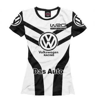 Женская футболка Volkswagen