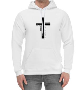 Мужской хлопковый худи Армянский крест