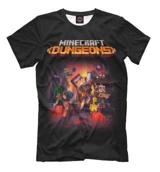 Мужская футболка Minecraft Dungeons