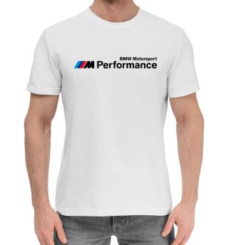 Мужская хлопковая футболка BMW Motorsport