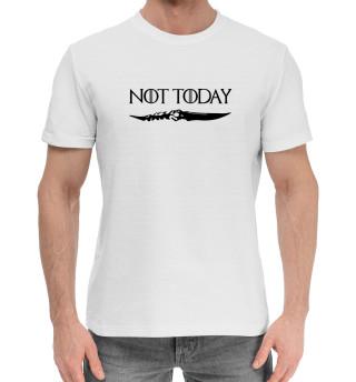 Женская хлопковая футболка Not today