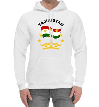 Мужской хлопковый худи Tajikistan