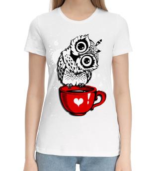 Женская хлопковая футболка Бодрого утра