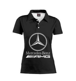 Женское поло Mersedes-Benz AMG
