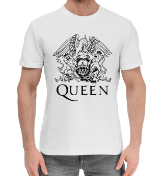 Мужская хлопковая футболка Квин