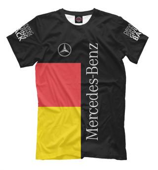 Мужская футболка Mercedes