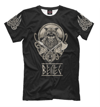 Мужская футболка Славянский Бог Велес