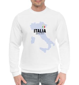 Мужской хлопковый свитшот Италия