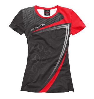 Женская футболка AMG