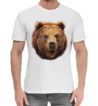 Мужская хлопковая футболка МедВед