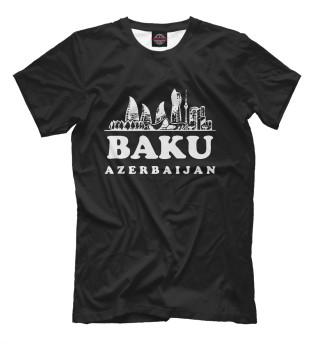 Мужская футболка Азербайджан