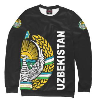 Мужской свитшот Узбекистан